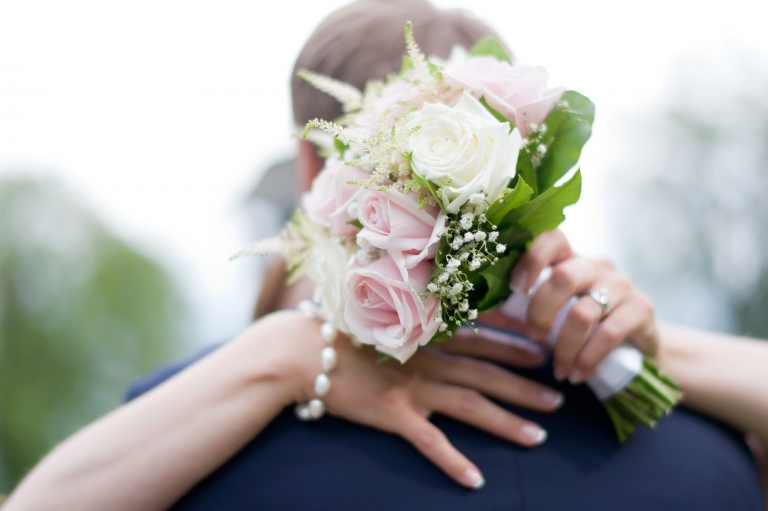 brudbukett bröllop leksand